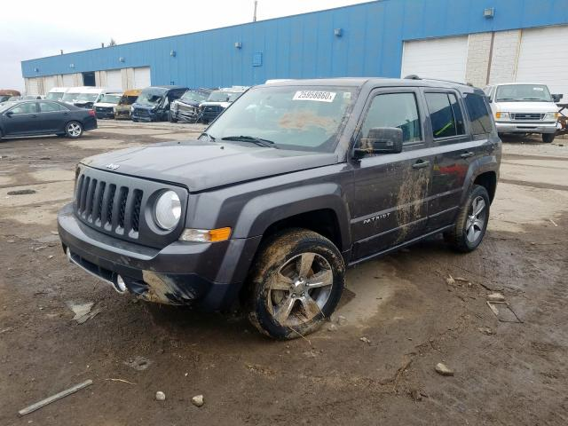 из сша 2016 JEEP PATRIOT LATITUDE 1C4NJRFB3GD695917