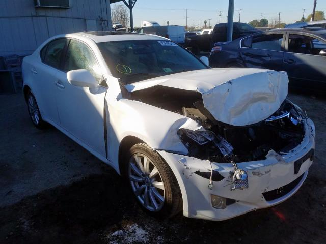 Lexus IS 250 salvage cars for sale: 2008 Lexus IS 250