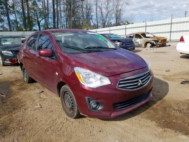 Salvage cars for sale from Copart Harleyville, SC: 2017 Mitsubishi Mirage G4