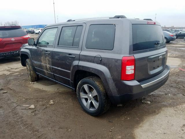 купить 2016 JEEP PATRIOT LATITUDE 1C4NJRFB3GD695917