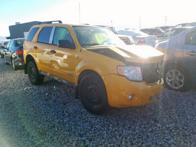 Salvage cars for sale at Magna, UT auction: 2008 Ford Escape HEV