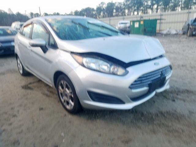 Salvage 2014 FORD FIESTA - Small image. Lot 25808390
