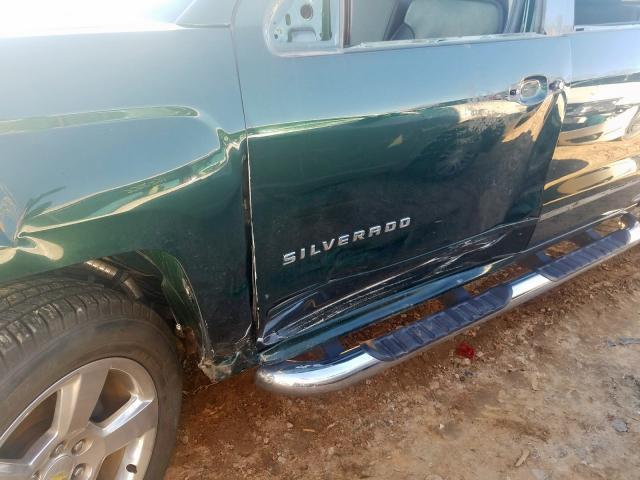 2014 Chevrolet SILVERADO   Vin: 3GCPCREC5EG493898