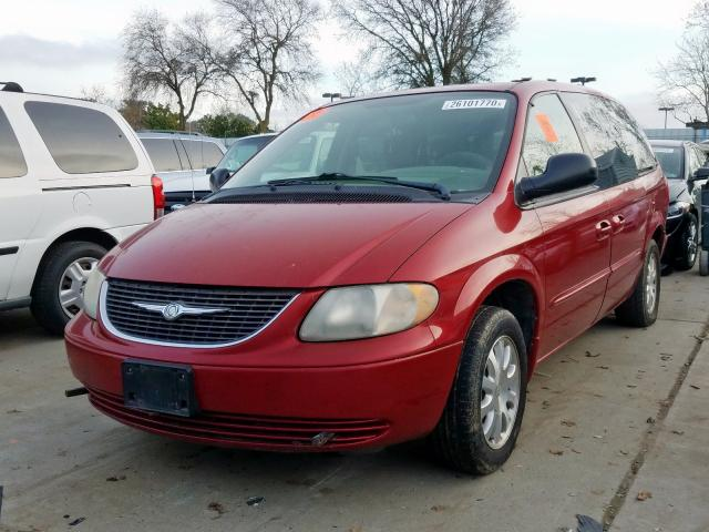 2003 CHRYSLER  MINIVAN