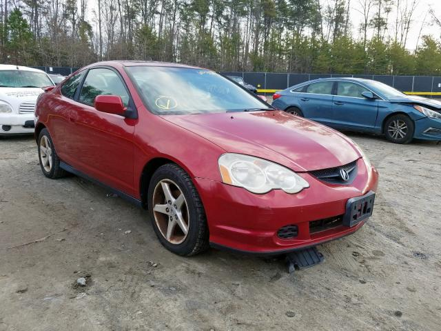 Salvage cars for sale from Copart Waldorf, MD: 2002 Acura RSX