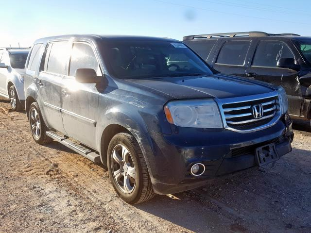 Salvage cars for sale from Copart Andrews, TX: 2012 Honda Pilot EX