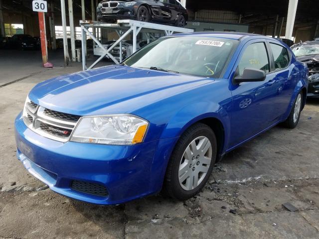 2014 Dodge  | Vin: 1C3CDZAB5EN161688