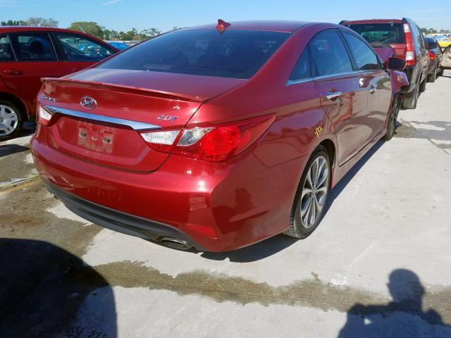 2014 Hyundai    Vin: 5NPEC4AB6EH863769