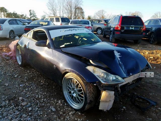Salvage 2008 NISSAN 350Z COUPE - Small image. Lot 26325230