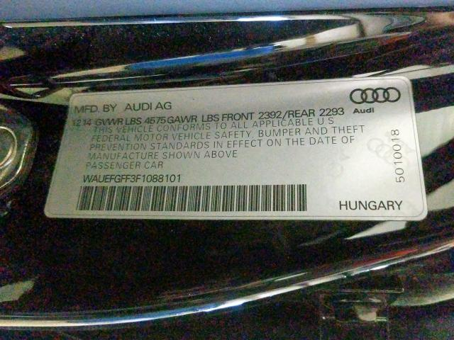 2015 Audi A3 | Vin: WAUEFGFF3F1088101
