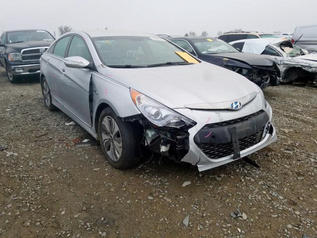 Salvage 2013 Hyundai SONATA HYBRID for sale