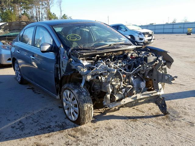 Salvage cars for sale from Copart Dunn, NC: 2014 Nissan Sentra S
