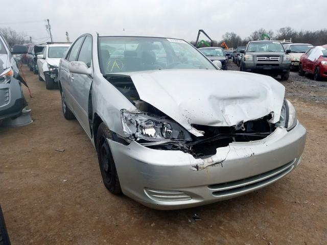 Salvage 2002 TOYOTA CAMRY - Small image. Lot 25984980