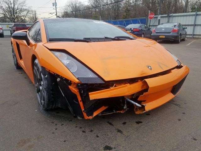 Lamborghini Gallardo salvage cars for sale: 2006 Lamborghini Gallardo