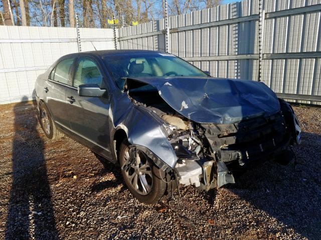 Salvage 2012 FORD FUSION - Small image. Lot 26338280