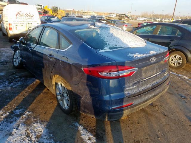 2019 Ford FUSION | Vin: 3FA6P0LUXKR147729