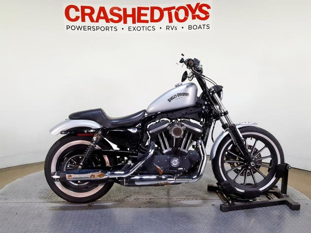 Salvage 2015 Harley-Davidson XL883 IRON for sale