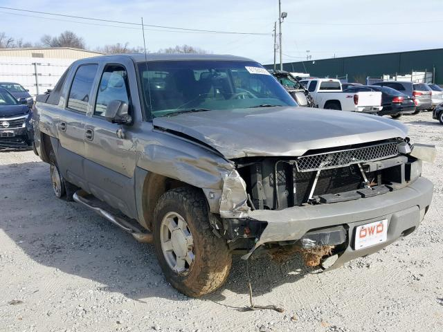 Salvage cars for sale from Copart Loganville, GA: 2002 Chevrolet Avalanche