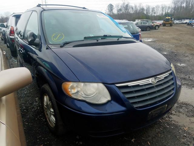 Salvage cars for sale from Copart Waldorf, MD: 2005 Chrysler Town & Country
