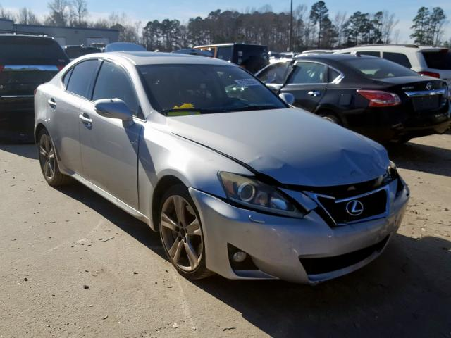 Salvage cars for sale from Copart Dunn, NC: 2012 Lexus IS 350