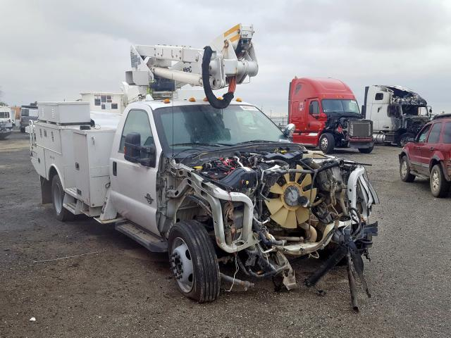 Salvage cars for sale from Copart Bakersfield, CA: 2012 Ford F550 Super