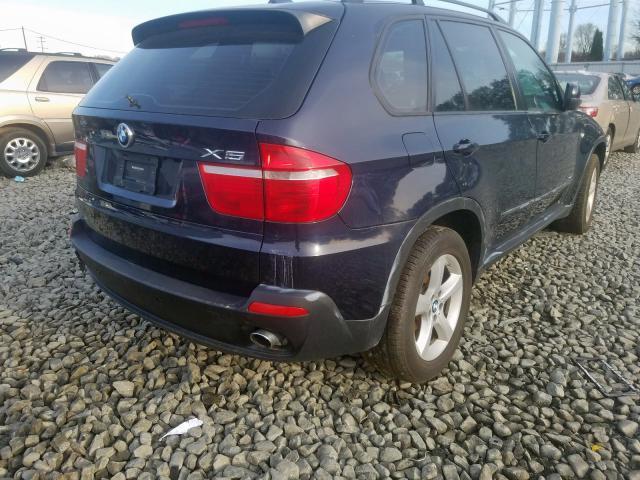 2009 BMW X5 XDRIVE3 - Right Rear View
