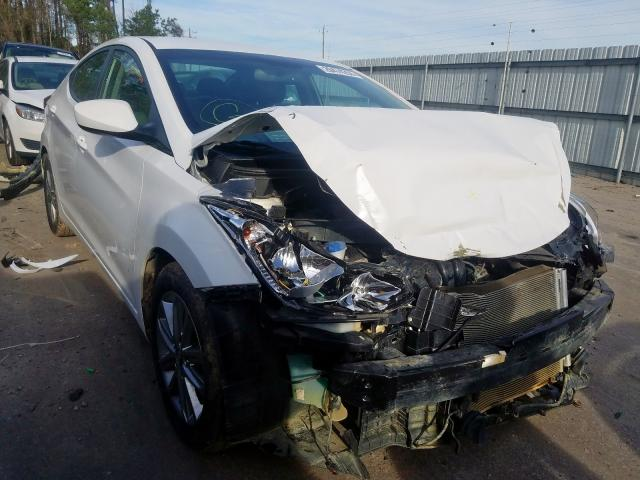 Salvage cars for sale from Copart Dunn, NC: 2016 Hyundai Elantra SE