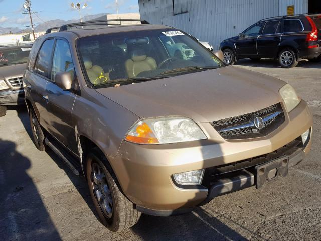 Acura MDX Touring salvage cars for sale: 2001 Acura MDX Touring