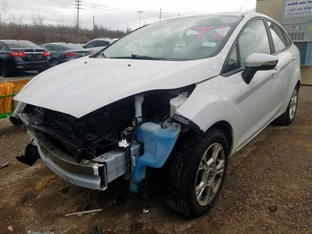 2015 FORD FIESTA SE - Left Front View