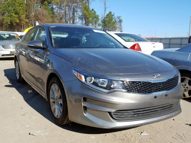 Salvage cars for sale from Copart Dunn, NC: 2017 KIA Optima LX