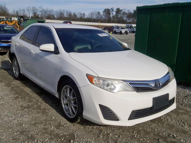 Salvage 2012 TOYOTA CAMRY - Small image. Lot 25901190