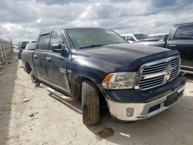 Salvage cars for sale from Copart New Braunfels, TX: 2014 Dodge RAM 1500 SLT