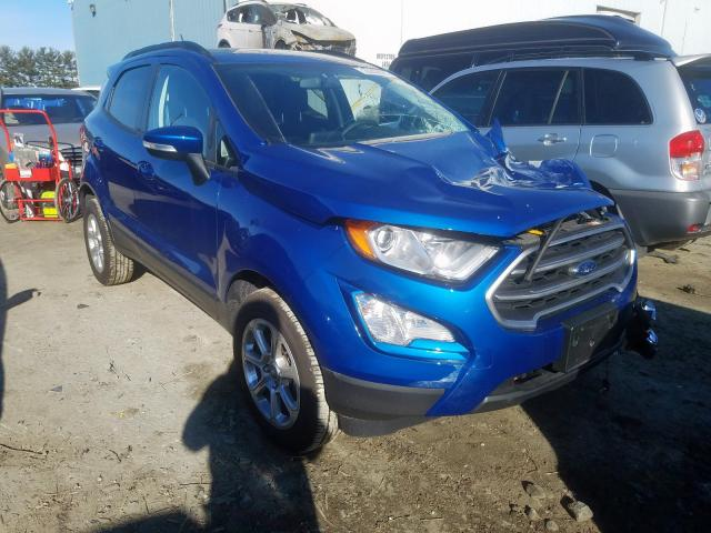 Ford Ecosport S salvage cars for sale: 2019 Ford Ecosport S