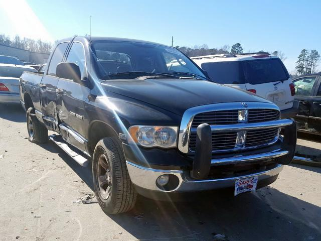Salvage cars for sale from Copart Dunn, NC: 2005 Dodge RAM 1500 S