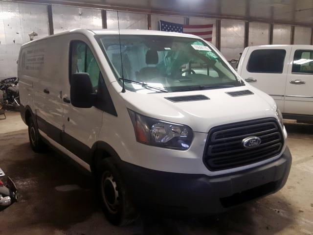 Salvage cars for sale from Copart Fort Wayne, IN: 2017 Ford Transit T