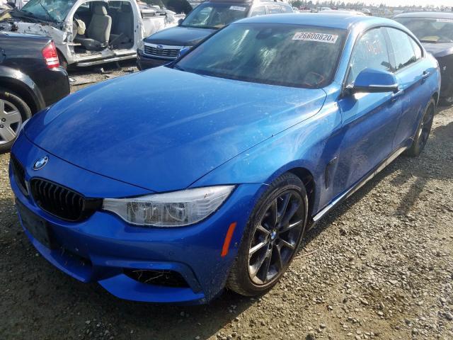 2017 BMW 4 series | Vin: WBA4E3C55HG187313
