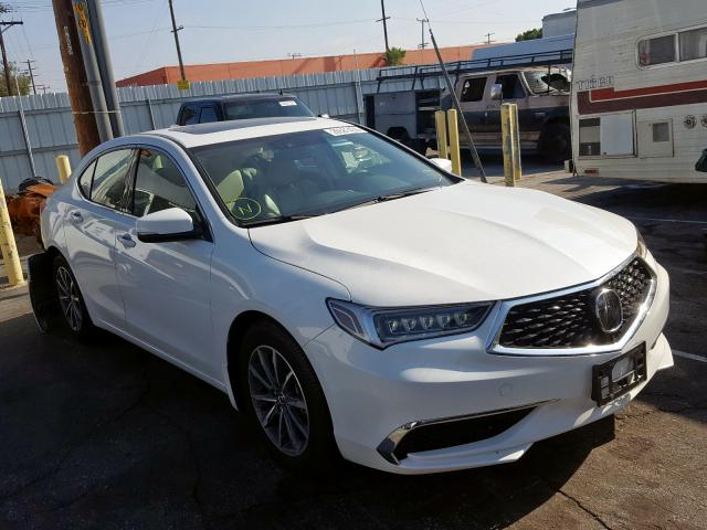 Acura Van Nuys >> 2018 Acura Tlx Tech For Sale At Copart Van Nuys Ca Lot 26581430 Salvagereseller Com