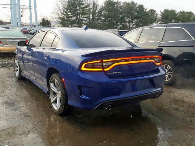 2019 Dodge CHARGER   Vin: 2C3CDXHG3KH608657