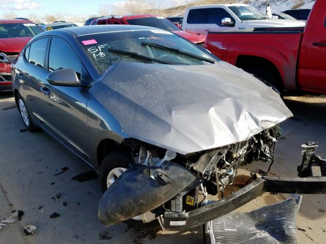 Hyundai salvage cars for sale: 2018 Hyundai Elantra SE