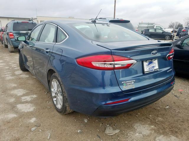 2019 Ford FUSION | Vin: 3FA6P0SU2KR145927