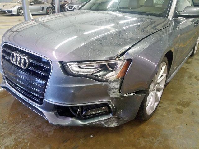 2015 Audi A5   Vin: WAUMFAFH1FN005199
