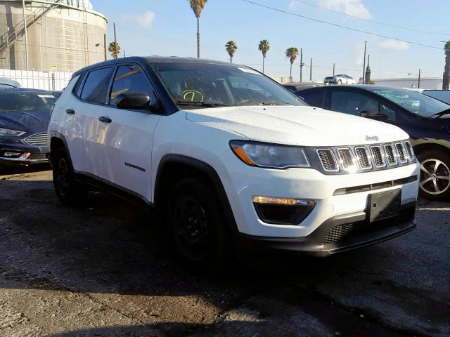 Jeep Compass SP salvage cars for sale: 2019 Jeep Compass SP