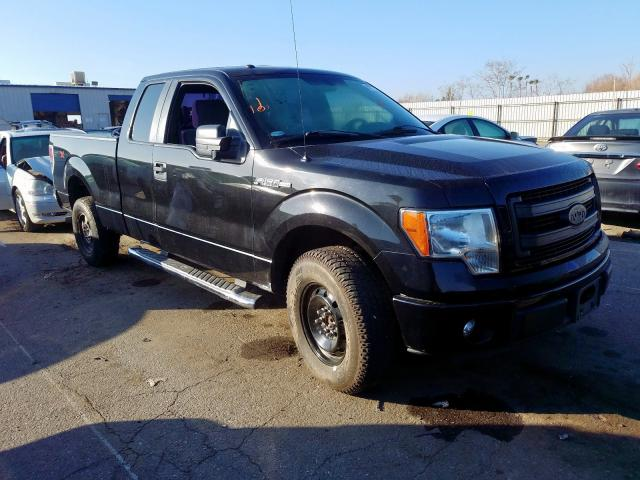 Salvage cars for sale from Copart Bakersfield, CA: 2013 Ford F150 Super