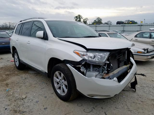 Salvage cars for sale from Copart Loganville, GA: 2013 Toyota Highlander