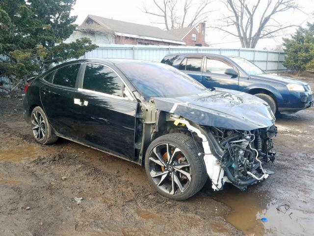 Salvage 2018 HONDA CIVIC - Small image. Lot 26212920