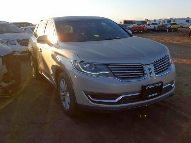 Lincoln salvage cars for sale: 2017 Lincoln MKX Premium