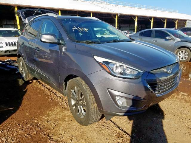 Salvage 2015 Hyundai TUCSON LIMITED for sale