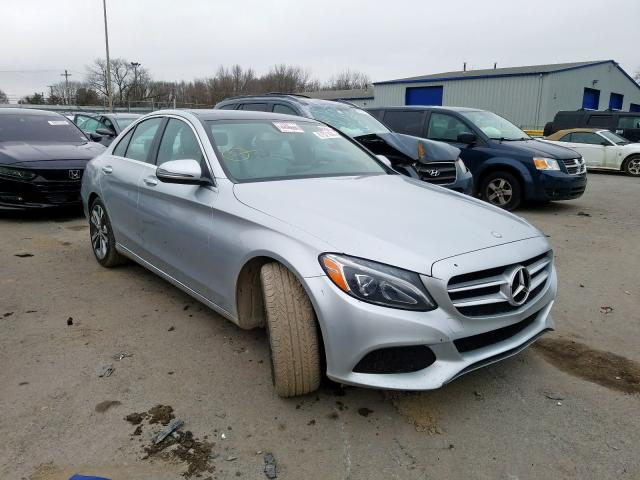 2017 Mercedes-Benz C300 en venta en Glassboro, NJ