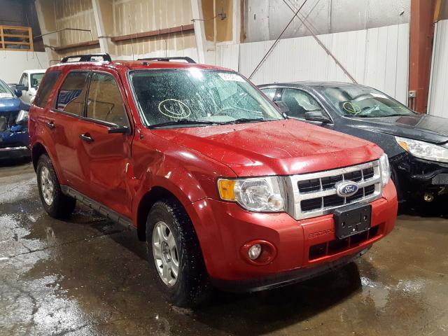 Ford salvage cars for sale: 2010 Ford Escape XLT