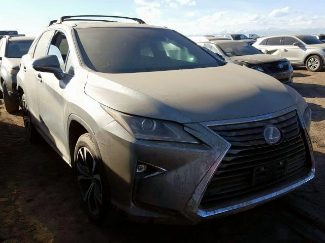 Lexus RX 450H BA salvage cars for sale: 2017 Lexus RX 450H BA